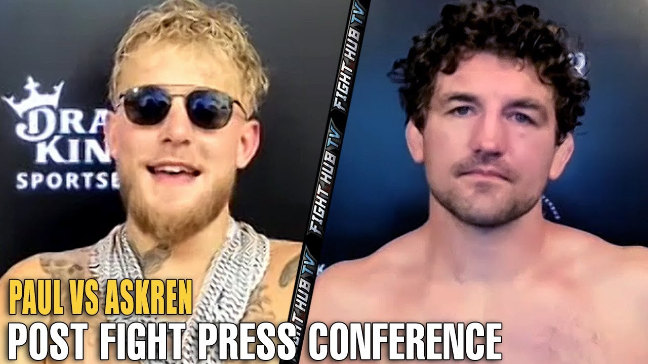 JAKE PAUL VS. BEN ASKRENKICK OFF PRESS CONFERENCE - Joe Fournier