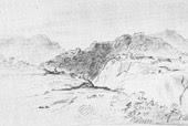 Вид горского селения. Лермонтов 1840—41 г.)