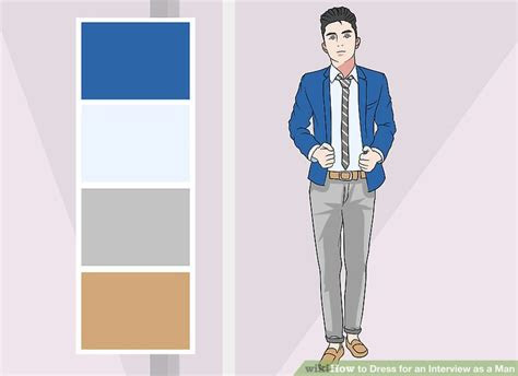 ways  dress   interview   man wikihow