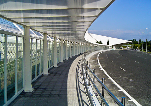 Airport of Sondika, Bilbao, Spain