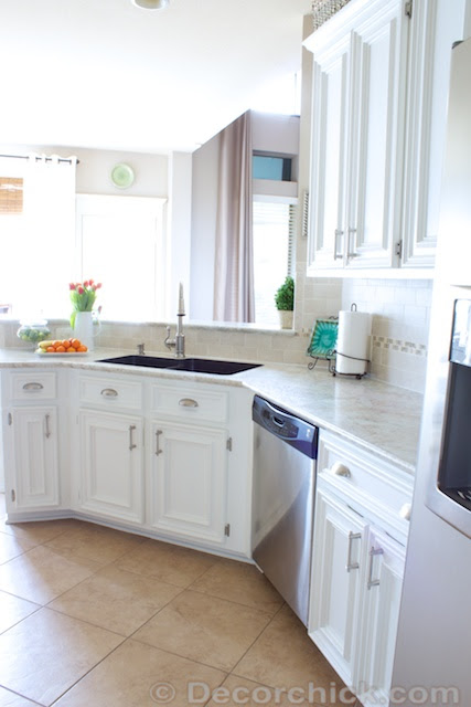 The Moment You Ve Been Waiting For Our White Kitchen Makeover Reveal Decorchick