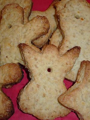 Per i bambini del Santa Lucia: biscotti all'arancia pieni di luce.