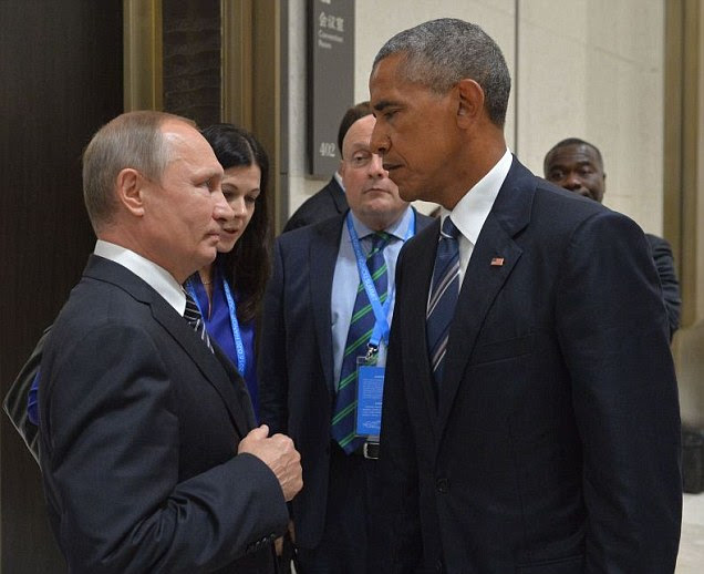 Barack Obama meets Putin for one-on-one meeting at the G20 summit in China