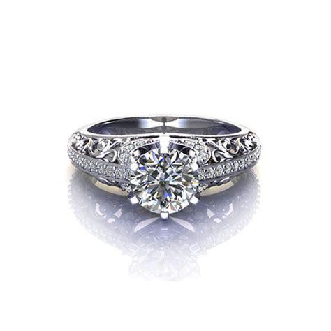 Filigree Engagement Ring   Jewelry Designs