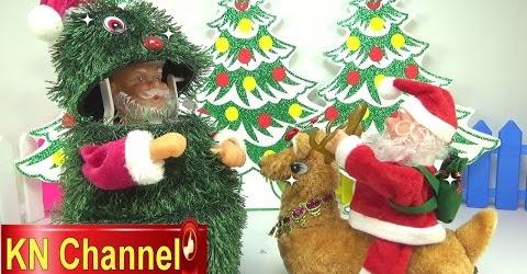 Đồ chơi trẻ em bé Na tìm đồ chơi giáng sinh bất ngờ Hide and seek Noel surprise Childrens toys