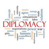 Diplomacy Word Cloud Concept — Stock Photo #44349765