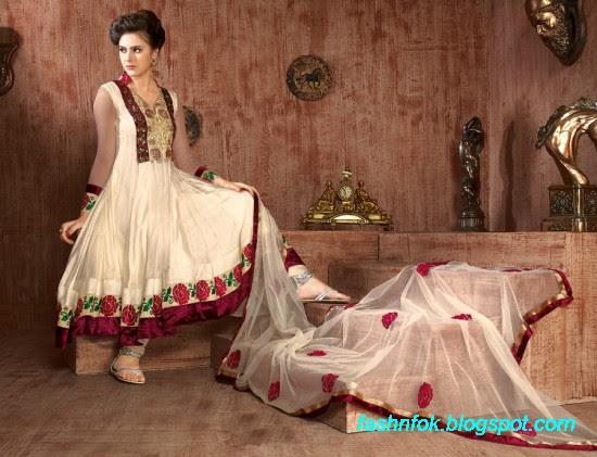 Anarkali-Fancy-Bridal-Wedding-Wear-Frocks-Dress-New-Fashionable-Designs-Collection-4