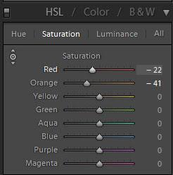 Giới thiệu Cài đặt HSL trong Lightroom