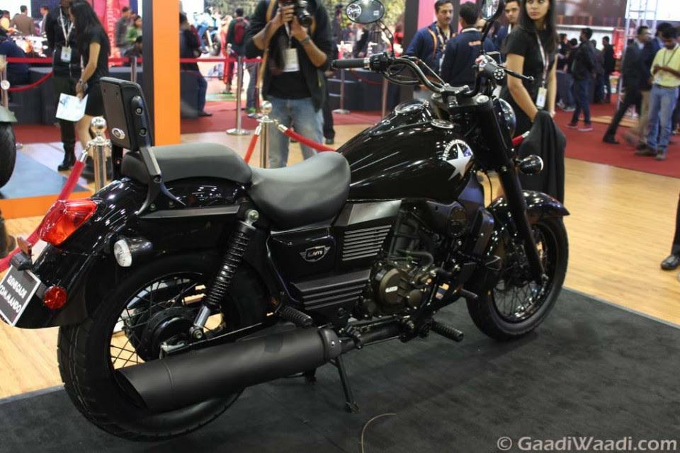 2016 Delhi Auto Expo: UM Renegade Commando Launched At Rs. 1.59 Lakhs ...