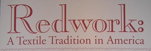 Redwork: A Textile Tradition in America