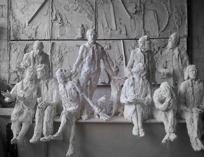 sculptures de roseline granet