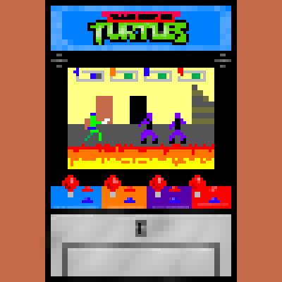 Arcade, Retrogaming, Games freezer