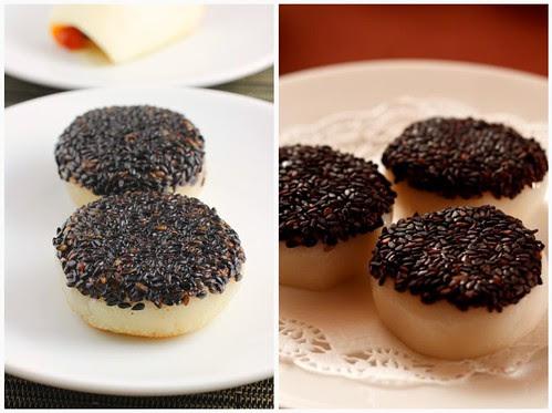 Sesame Cake Collage