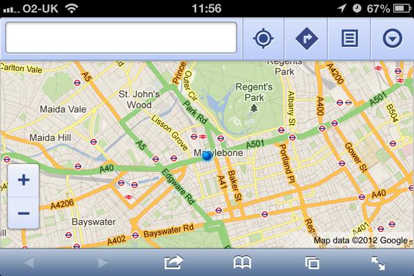 App do Maps para iOS pode chegar em breve (Foto: Reprodução)