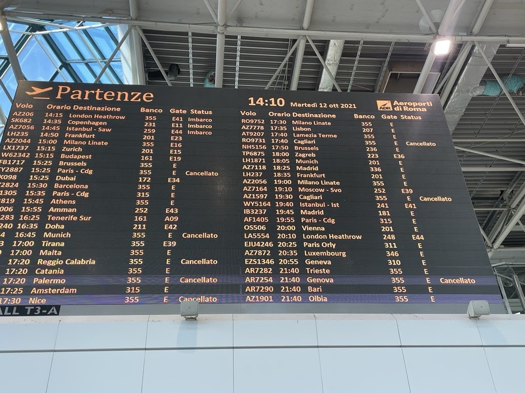 Cox: Arrivederci Alitalia, you won't be missed