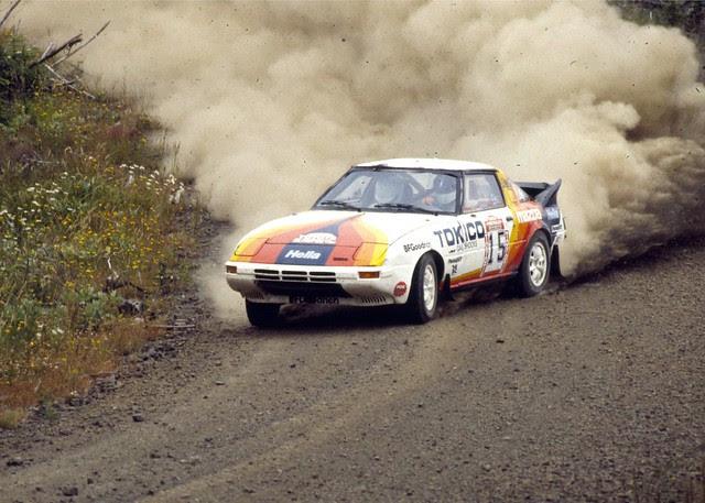 4WD Mazda RX-7 - 1985 Olympus Rally