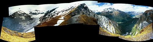 Cascade Saddle Panorama