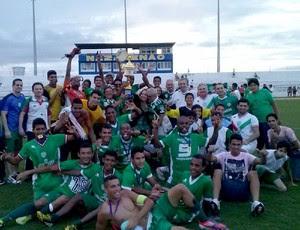 Alecrim conquista Estadual Sub-20 2013 (Foto: Divulgação/Alecrim)