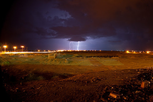 Sinai Lighting Storm