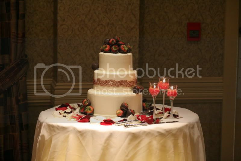 Pictures Of Wedding Cake Tables