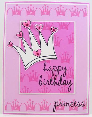 SOL April Princess Crown Card