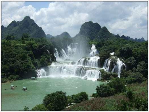 Водопад Детьян, Вьетнам/Китай