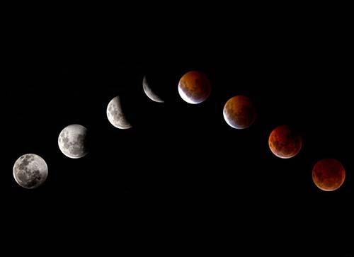 """lunas sangre ¿El mundo llegará a su fin después de las """"cuatro lunas de sangre""""?"""
