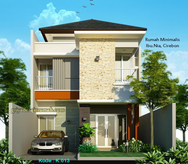 8100 Gambar Rumah Dua Lantai Minimalis Terbaru