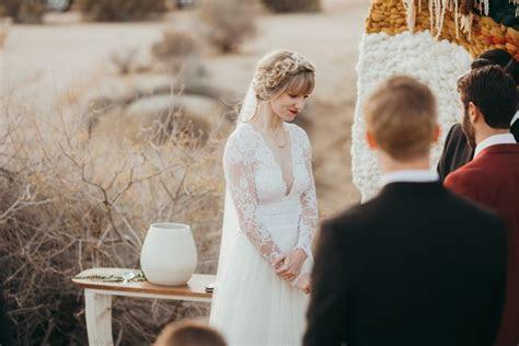 This Joshua Tree Wedding at Pipes Canyon Lodge was Rich