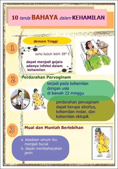 tanda bahaya  kehamilan putri