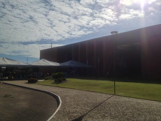 Eleição indireta acontece neste domingo no plenário da Assembleia Legislativa (Foto: Jesana de Jesus/G1)
