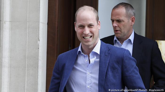 England Prinz William Royal Baby (Foto: picture-alliance/dpa/AP Photo/C. Wigglesworth)