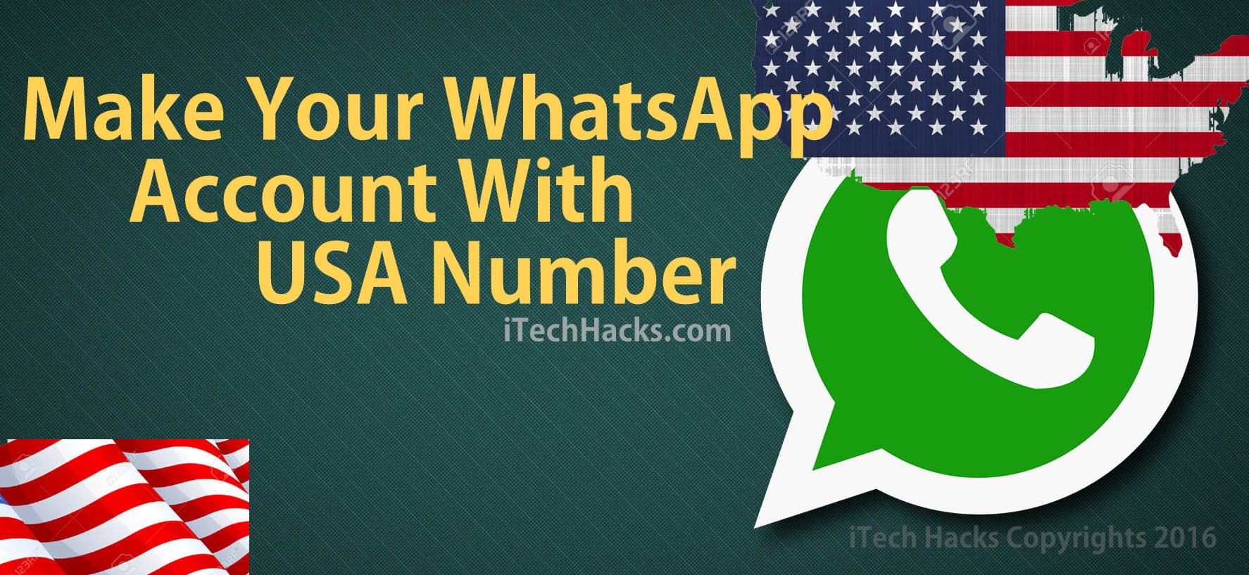 make your whatsapp with USA number free latest