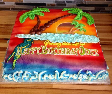 Margaritaville birthday cake   Birthday Cakes   Party
