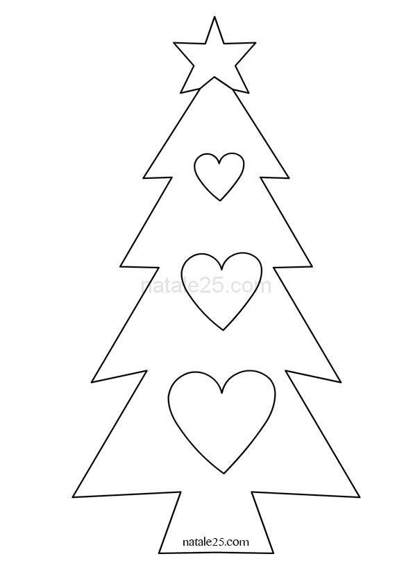 Sagome E Disegni Di Natale Maestra Mary