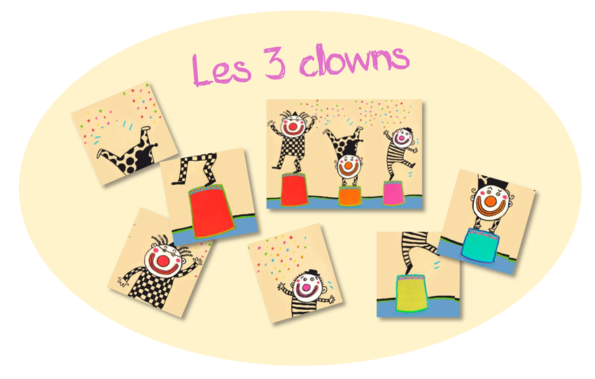 la maternelle de tot billes de clown les 3 clowns. Black Bedroom Furniture Sets. Home Design Ideas