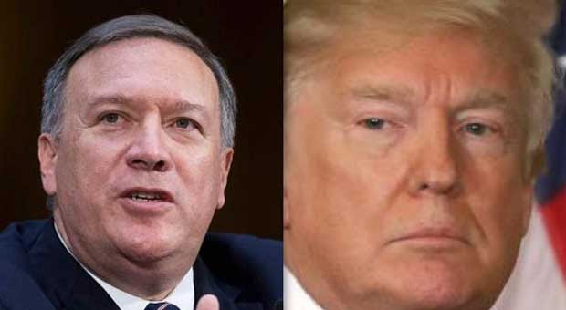 cia director mike pompeo has admitted that there is absolutely no evidence of russian interference i