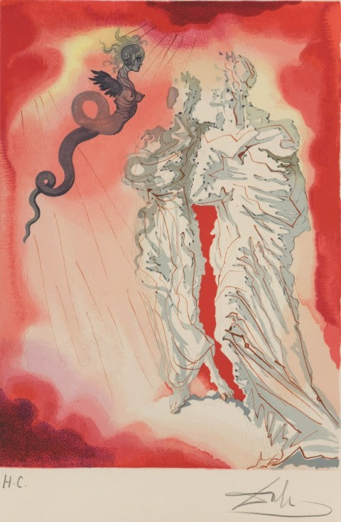 Click here to read Salvador Dalí's illustrations for Dante's <em>Divine Comedy</em> are absolutely beautiful