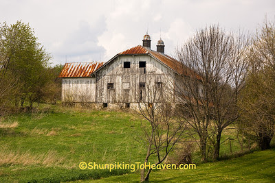 Old Barn, Wayne County, Indiana