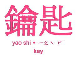 Key_in_chinese