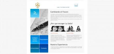 La página web de La Salle de Seglares.