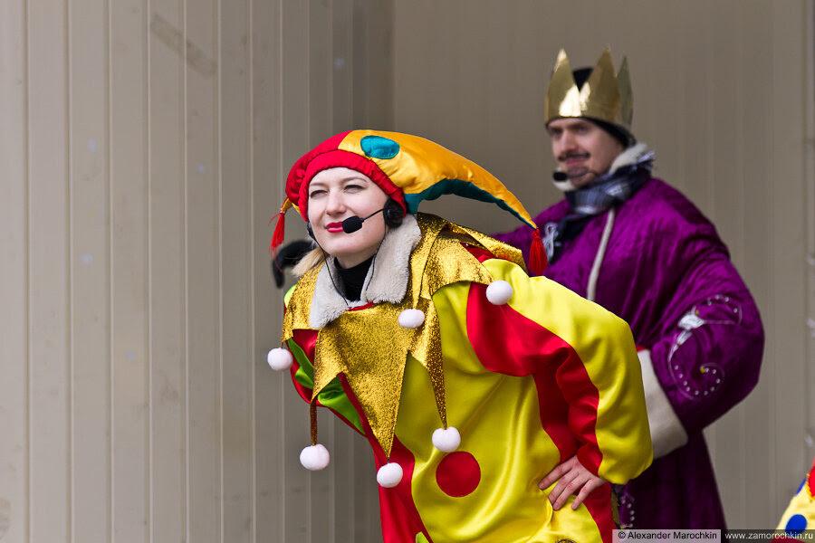 Театрализованное представление со скоморохами и сказочными персонажами | Масленица в Саранске 17.03.2013