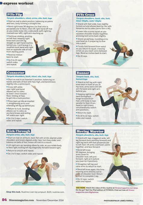 Piyo Workout Exercises