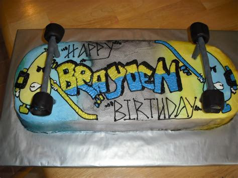 Skateboard Cakes ? Decoration Ideas   Little Birthday Cakes