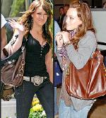 Hilary Duff wearing Rebecca Minkoff