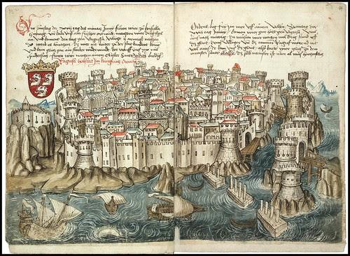 Konrad von Grünenberg - Beschreibung der Reise von Konstanz nach Jerusalem 1487 h