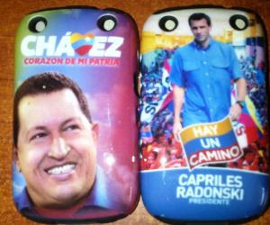 Chávez y Capriles