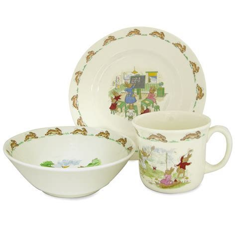 Royal Doulton   Bunnykins Nursery Children's Set 3pce