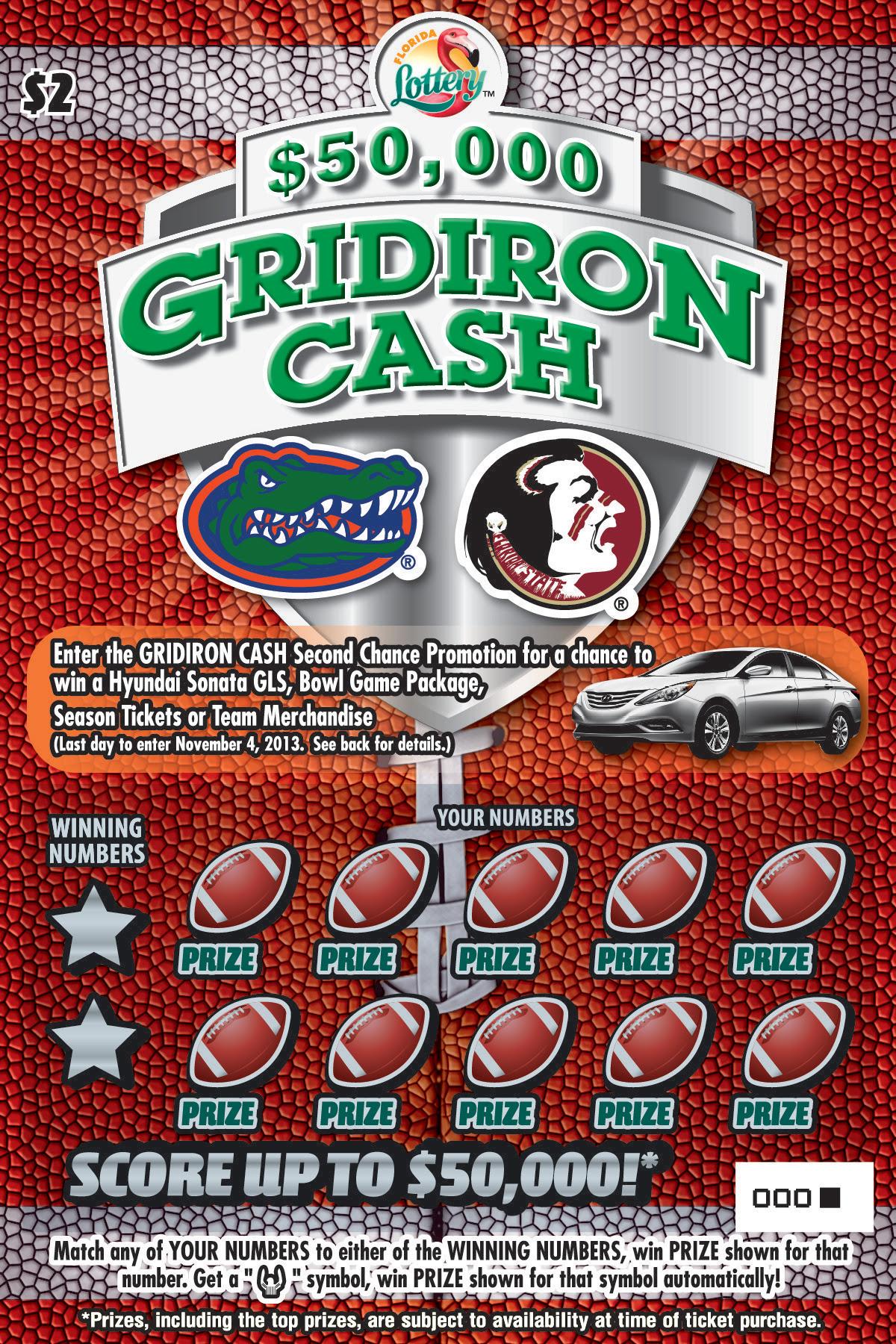Florida Lottery scratch-off game - southflorida.com
