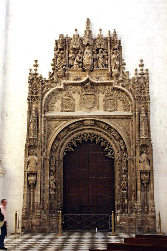 Puerta de la Capilla Real de Granada